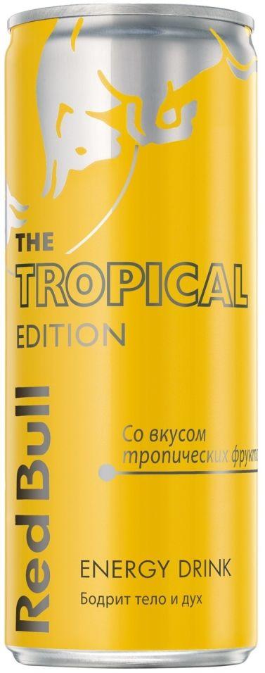 Напиток Red Bull Tropical Edition энергетический 250мл
