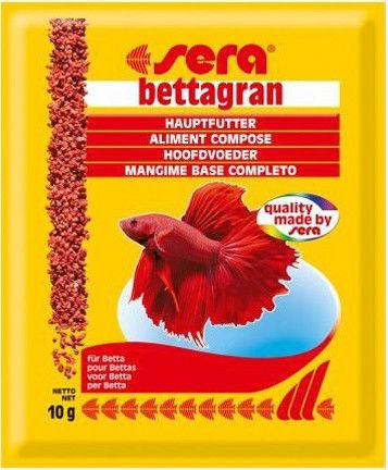 Корм для рыб Sera Bettagran для петушков гранулы 10г