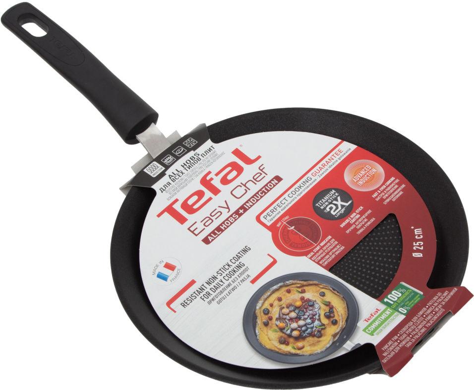 Сковорода Tefal Easy Chef блинная 25см