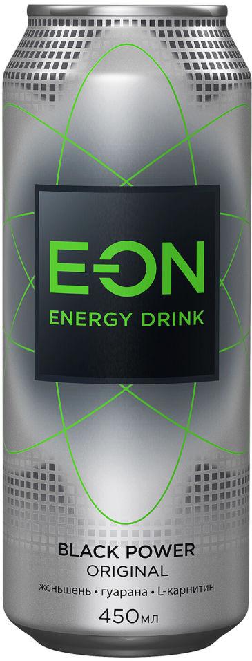 Напиток E-ON Black Power Original энергетический 450мл