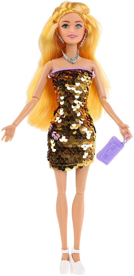 Кукла Shantou City София в платье с пайетками