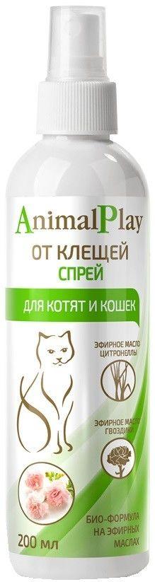 Спрей для котят и кошек Animal Play от клещей 200мл