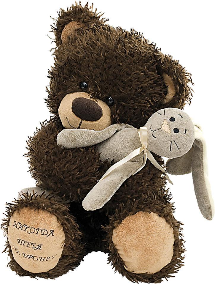 Мягкая игрушка Fancy медведь Чиба с зайцем 28см