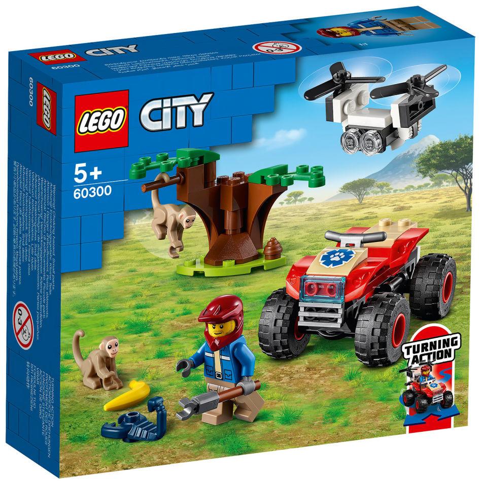 Конструктор LEGO City 60300 Спасательный вездеход для зверей