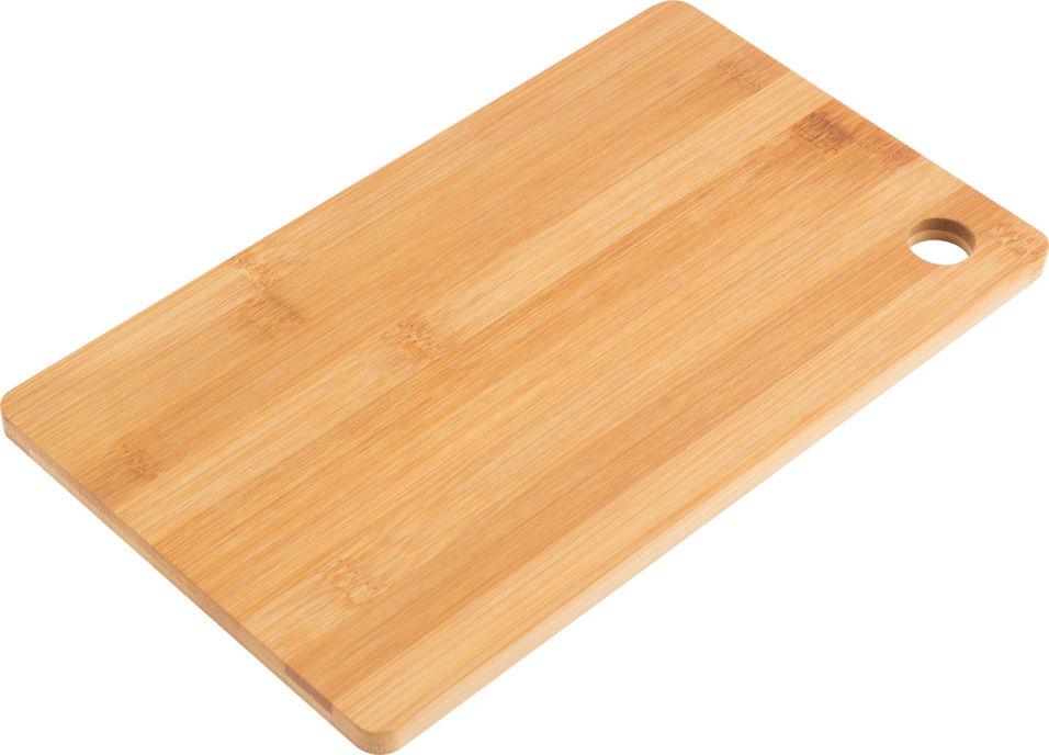 Доска разделочная Mallony Foresta di bambu бамбук 27*16*1см
