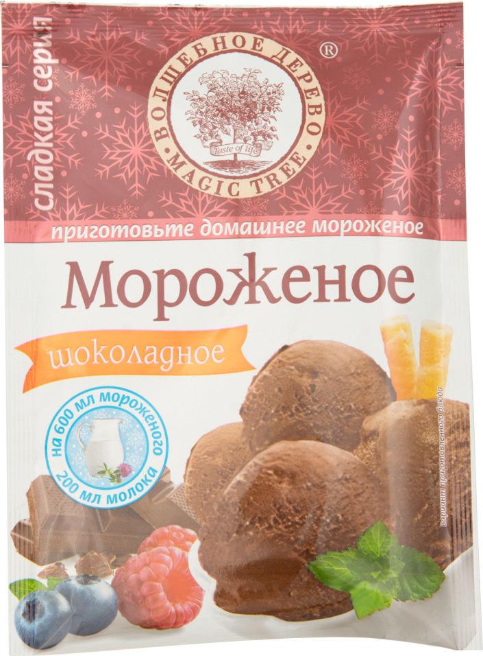 Сухая смесь Волшебное дерево Мороженое Шоколадное 75г