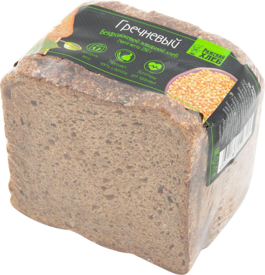 Хлеб Рижский Хлеб Гречневый 280г