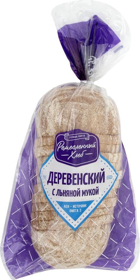 Хлеб Ремесленный хлеб Деревенский с льняной мукой 350г