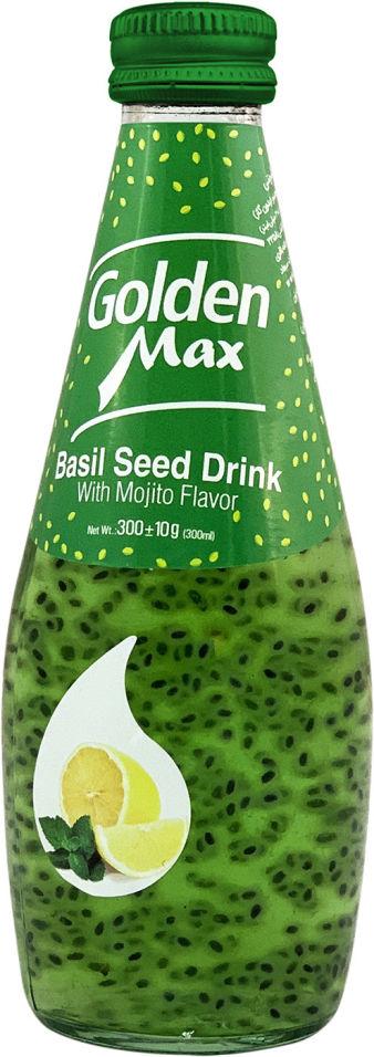 Напиток Golden Max со вкусом Мохито и семенами базилика 300г