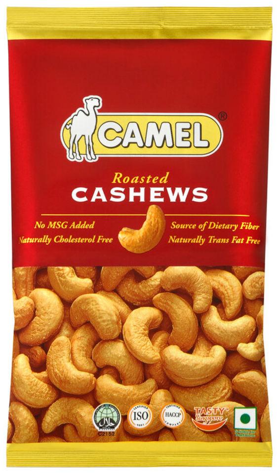 Кешью Camel жареный подсоленный 40г