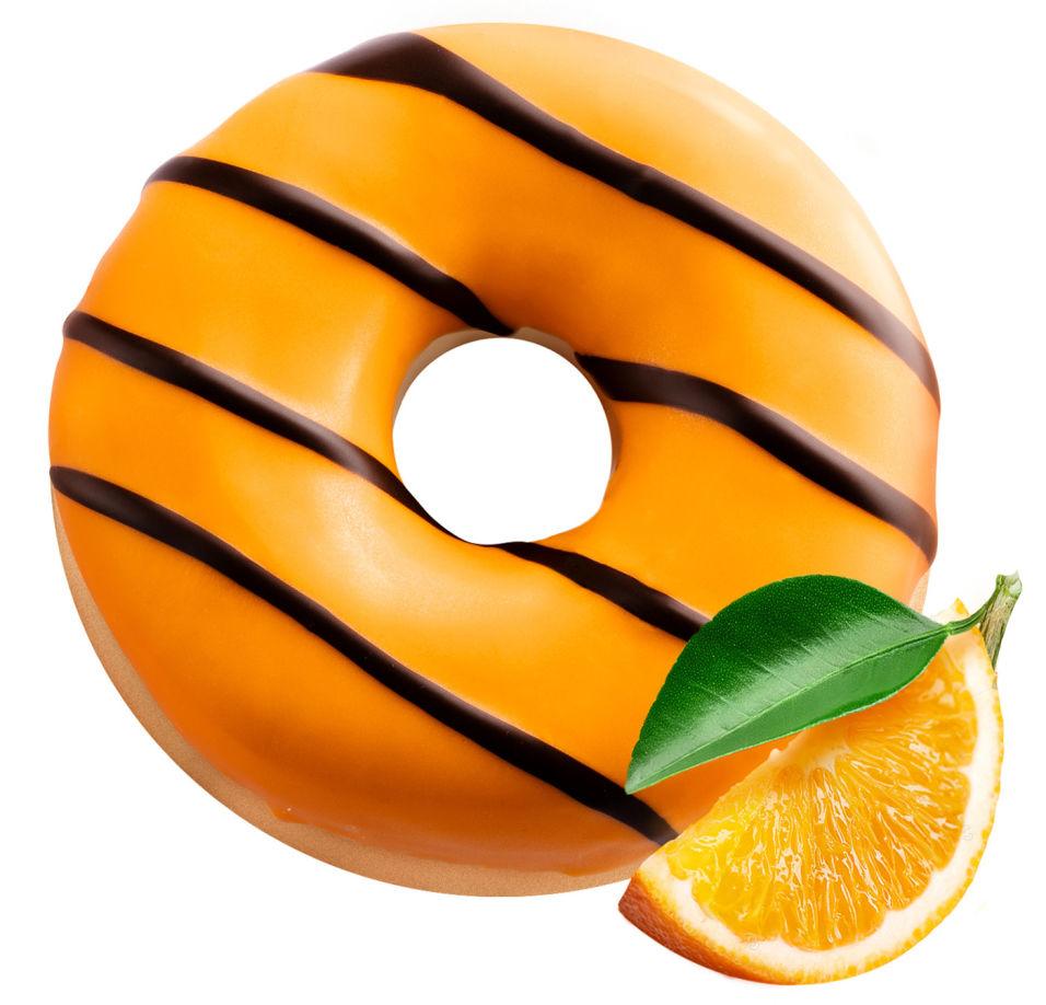 Донат Bakerton Апельсин глазированный 55г
