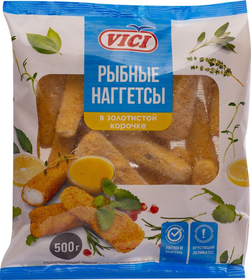 Наггетсы Vici из филе хека в золотистой корочке 500г
