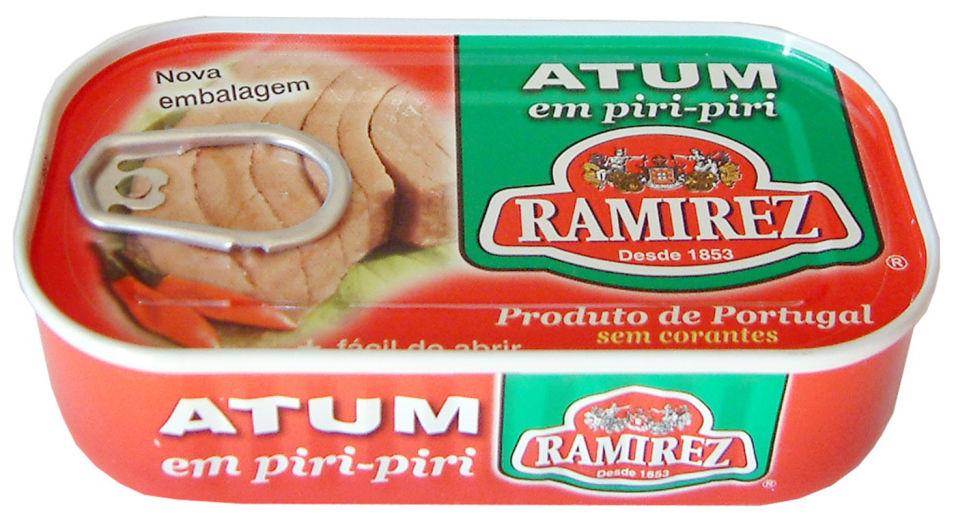 Тунец Ramirez в пикантном соусе 125г