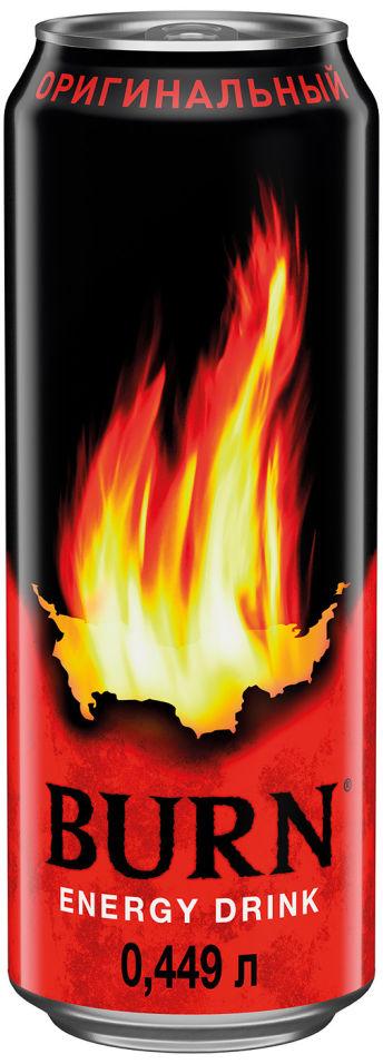 Напиток энергетический Burn Оригинальный 449мл