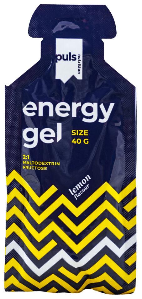 Гель питьевой энергетический Puls Nutrition Puls Energy Gel Лимон 40г