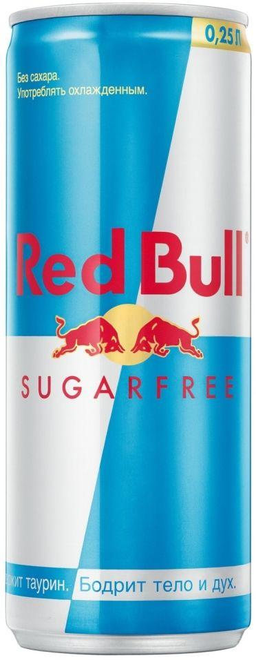 Напиток Red Bull энергетический без сахара 250мл