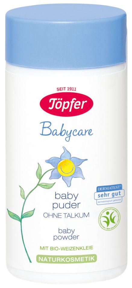 Присыпка детская Topfer Babycare без талька 75г