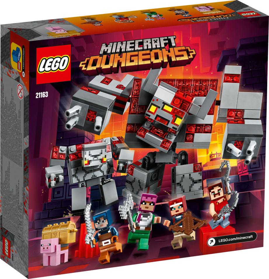 Конструктор LEGO Minecraft 21163 Битва за красную пыль
