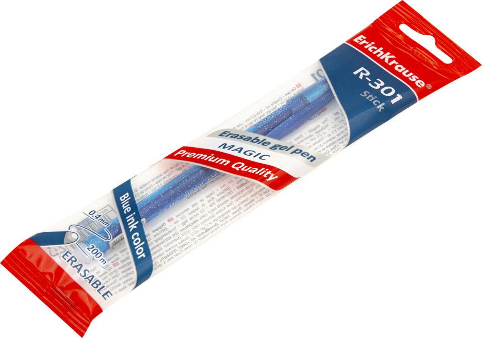 Ручка Erich Krause Magic Gel гелевая синяя 0.5мм