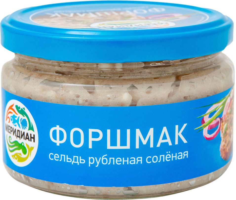 Сельдь Меридиан Сельдь рубленая соленая Форшмак 200г
