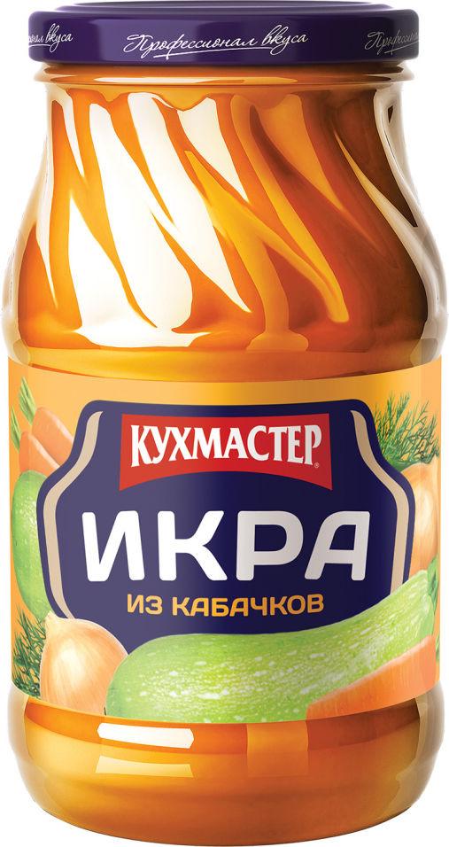 Икра Кухмастер из кабачков 480г (упаковка 3 шт.)