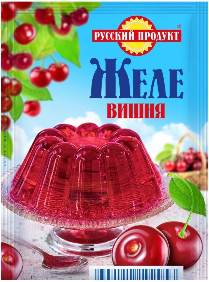 Желе Русский продукт Вишня 50г