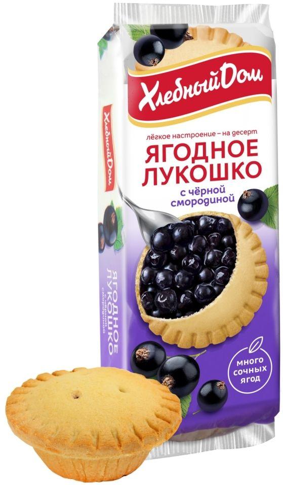 Кекс Хлебный Дом Ягодное Лукошко с черной смородиной 2шт*70г