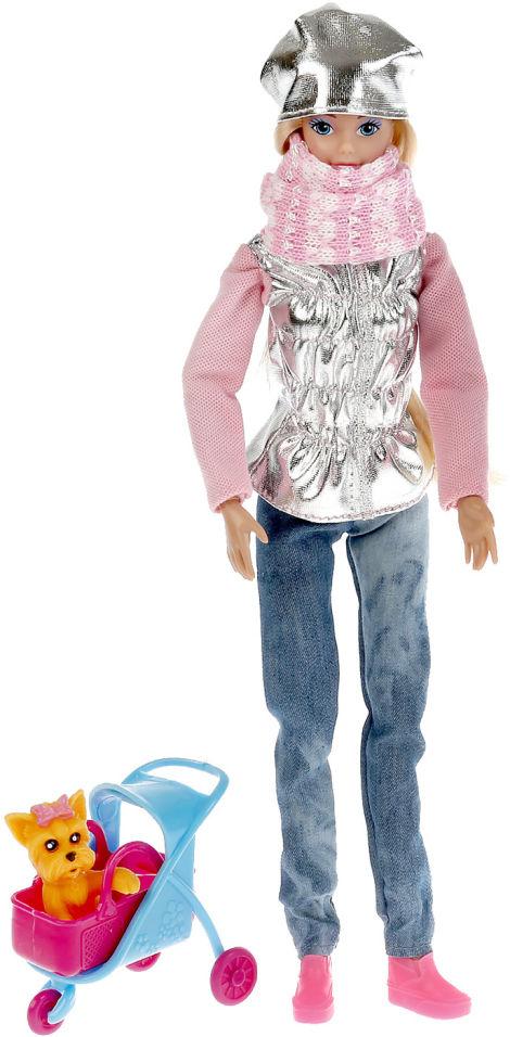 Кукла Shantou City София с питомцем