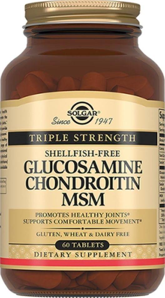 БАД Solgar Комплекс Глюкозамина и Хондроитина 60 таблеток