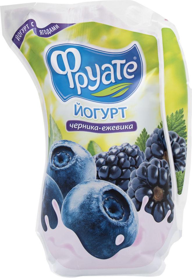 Отзывы о Йогурте питьевом Фруате Черника и Ежевика 1.5% 950г