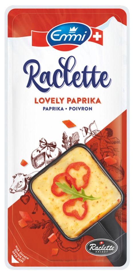 Отзывы о Сыре Emmi Raclette с паприкой нарезка 45% 150г