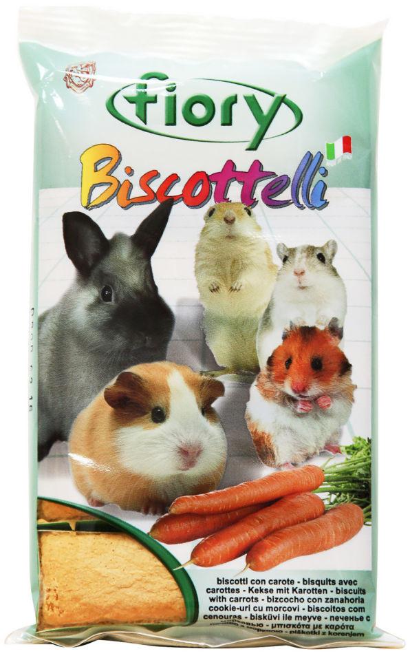 Лакомство для грызунов Fiory Бисквиты с морковью 35г