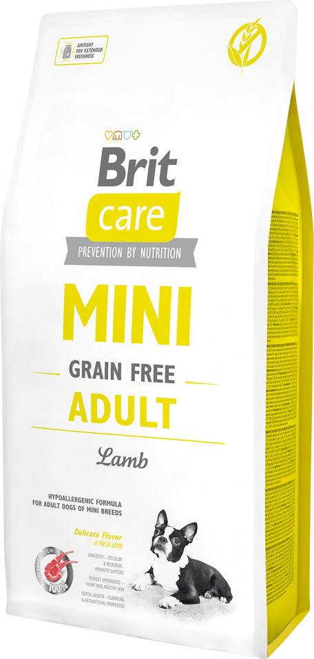 Сухой корм для собак Brit Care Ягненок для маленьких пород 7кг
