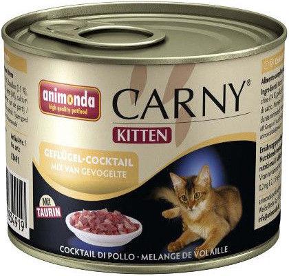Корм для котят Animonda Carny Kitten Куриный коктейль 200г