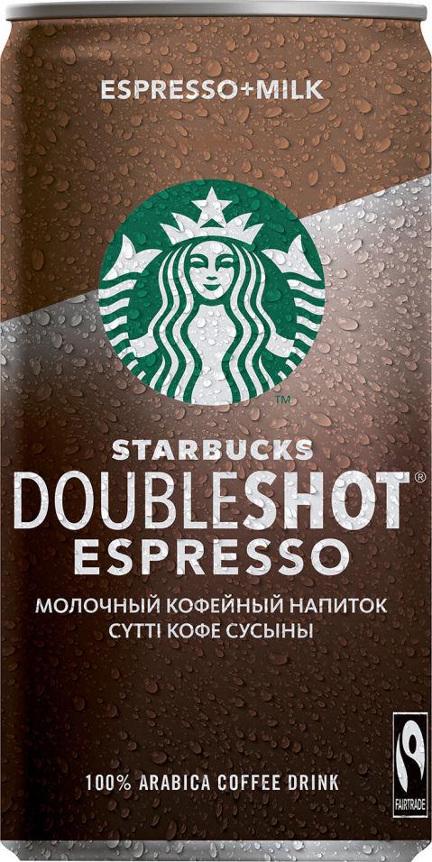 Отзывы о Напитке Starbucks Doubleshot Espresso 200мл