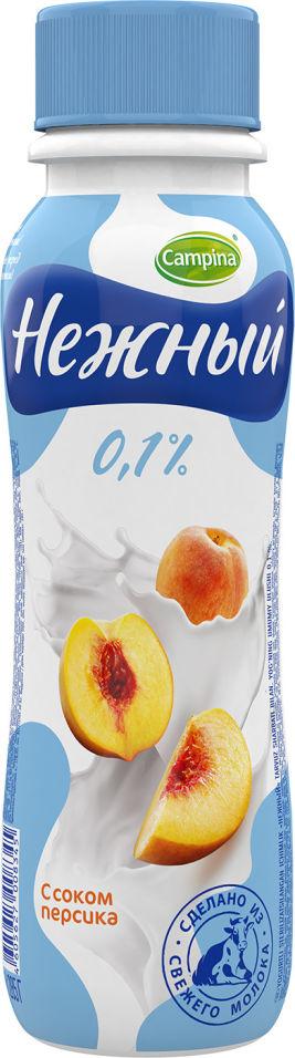 Отзывы о Питьевом йогурте Нежном с соком персика 0,1% 285г