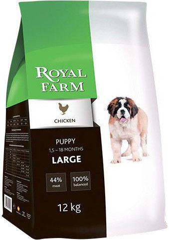 Сухой корм для щенков Royal Farm Курица для крупных пород 2кг