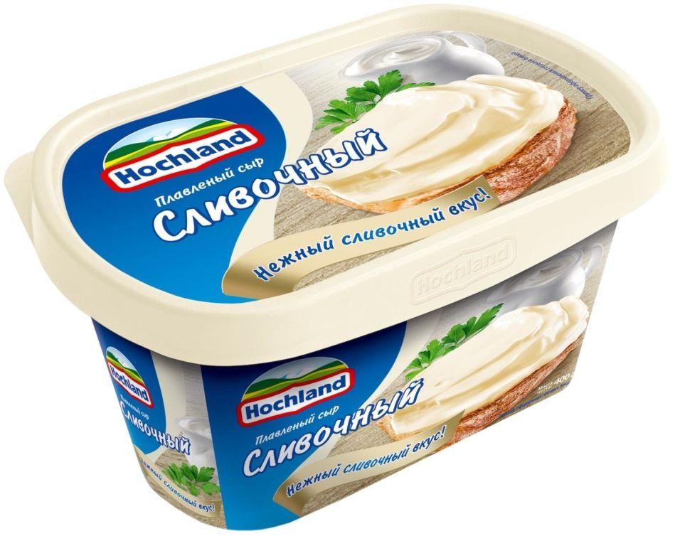 Сыр плавленый Hochland Сливочный 55% 400г