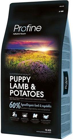 Сухой корм для щенков Profine Puppy Ягненок 15кг