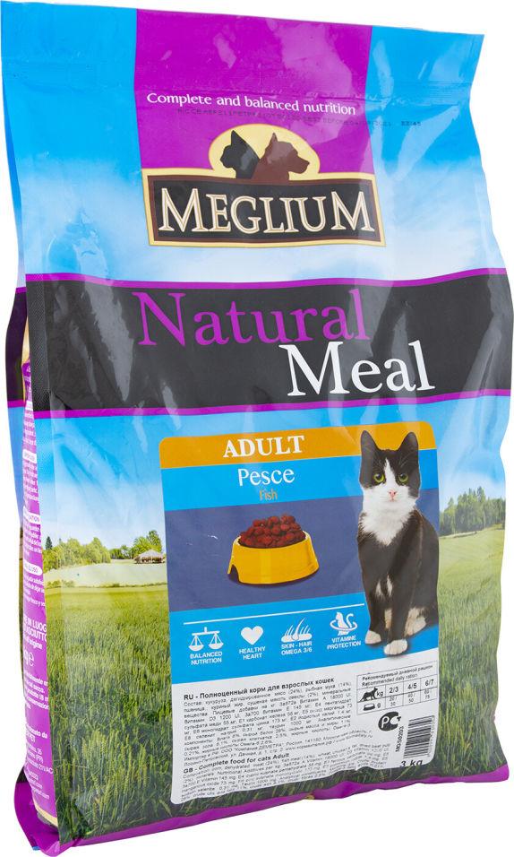 Сухой корм для кошек Meglium Adult для чувствительного пищеварения Рыба 3кг