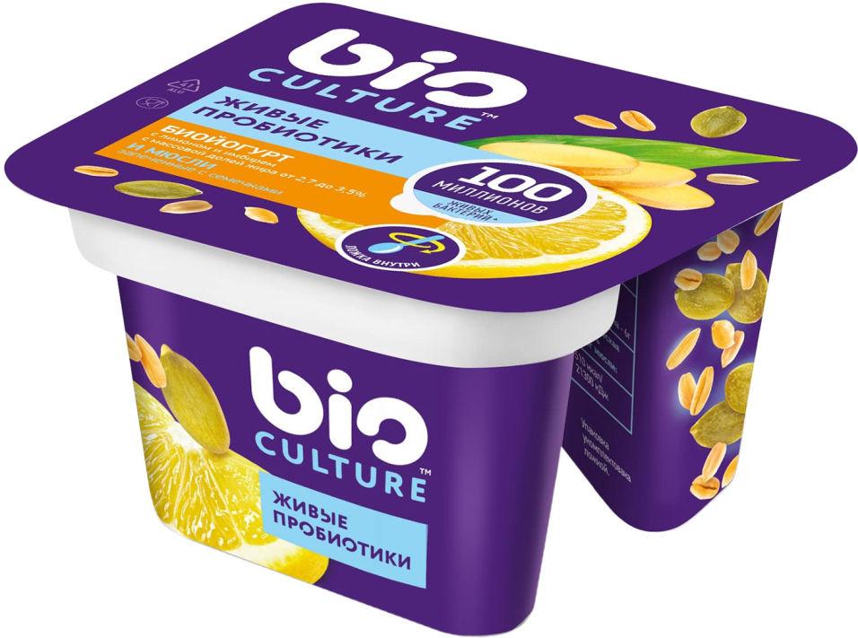 Отзывы о Биойогурте bio Culture Лимон-имбирь мюсли 2.7-3.5% 130г