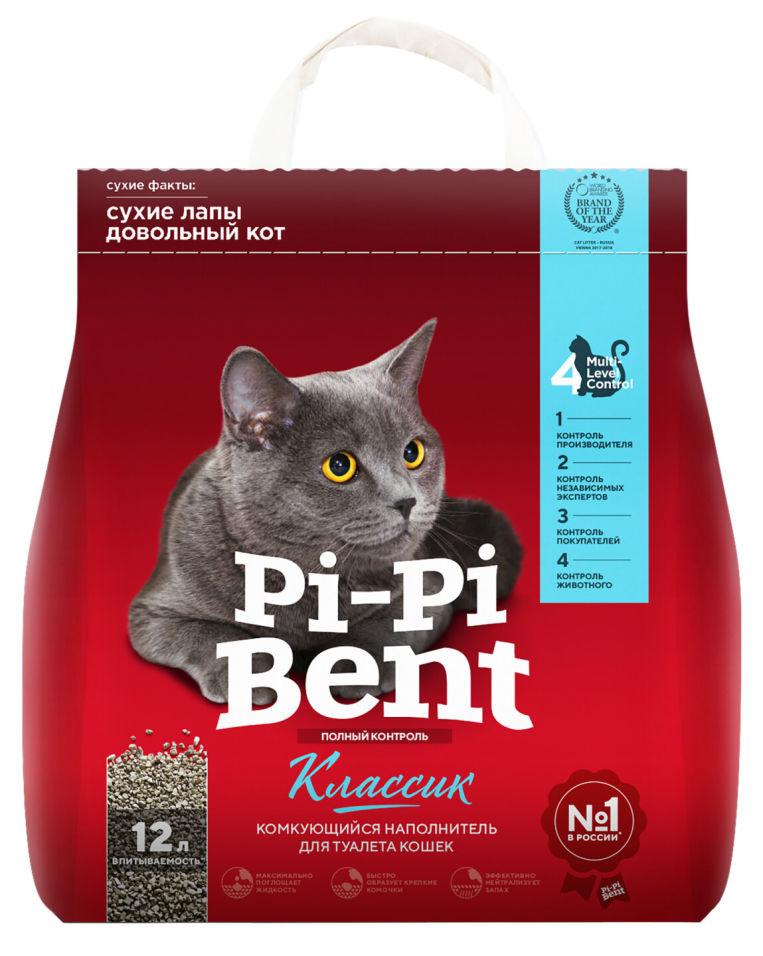 Наполнитель Pi-Pi Bent комкующийся 5 кг