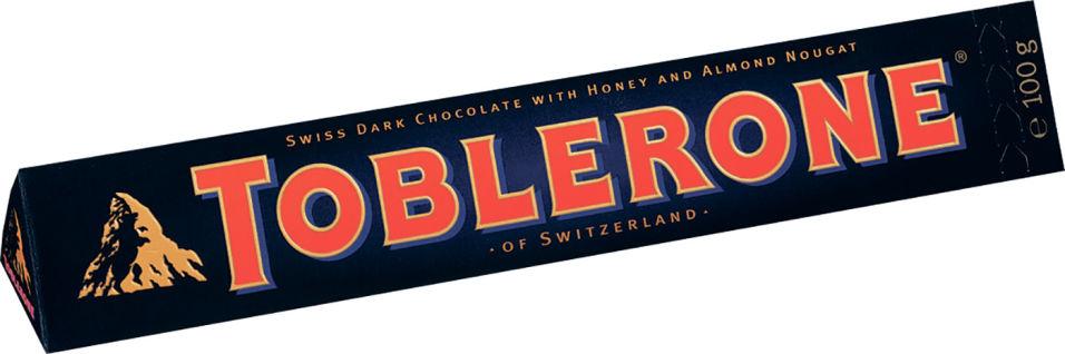 Отзывы о Шоколаде Toblerone темном с Медово-миндальной нугой 100г