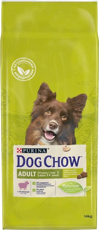 Сухой корм для собак Dog Chow Ягненок 14кг