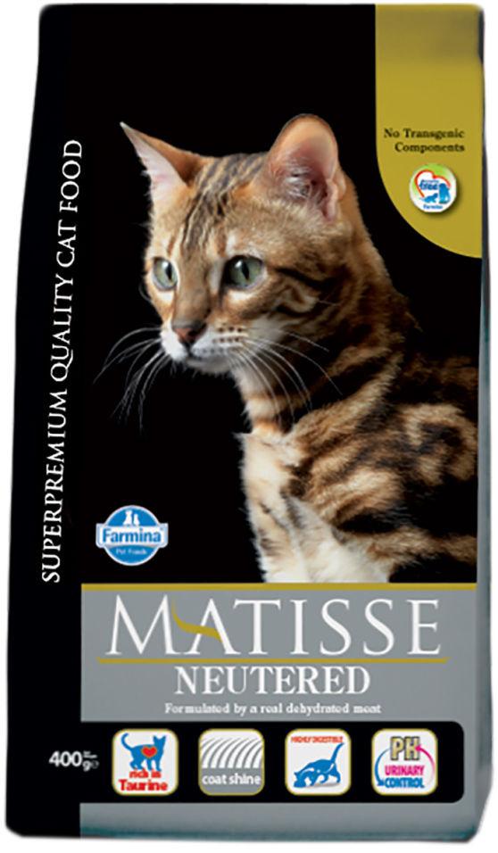 Корм для кошек Matisse Neutered для стерилизованных и кастрированных 10кг