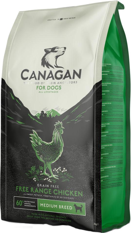 Сухой корм для собак Canagan Free-Run Chicken для всех пород Цыпленок 12кг