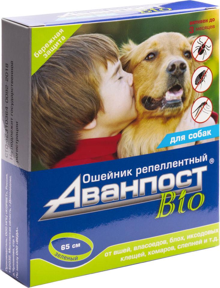Ошейник для собак Veda Аванпост Bio репеллентный 65см
