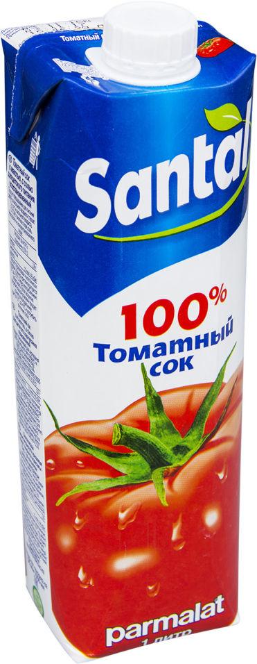 Сок Santal Томатный с солью 1л