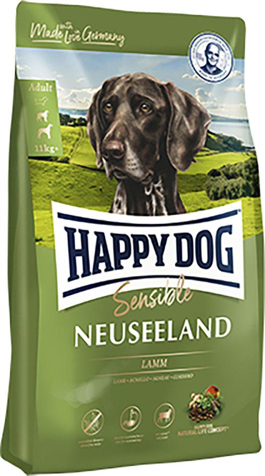 Сухой корм для взрослых собак Happy Dog Ягненок и рис 4кг