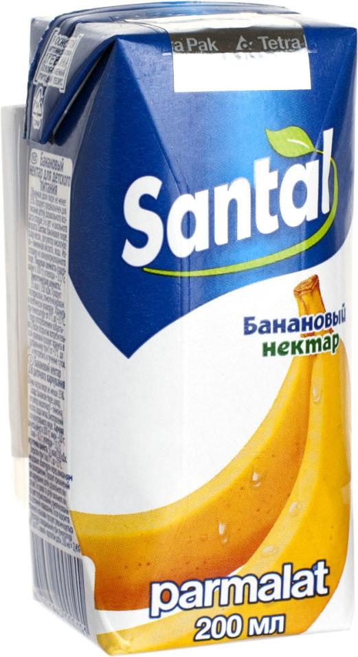 Нектар Santal Банановый 200мл